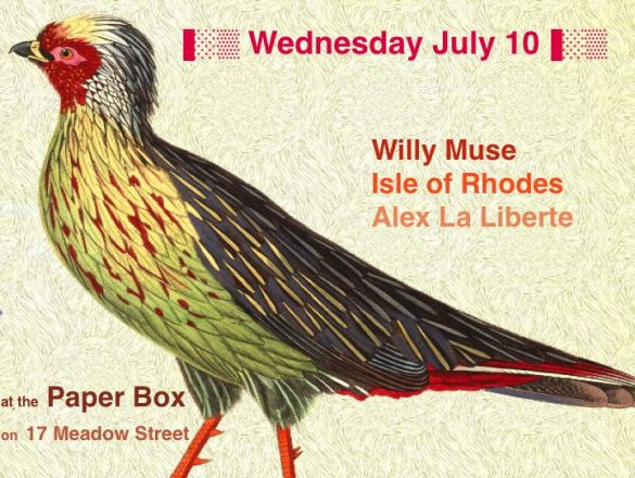 Alex La Liberte at Paper Box